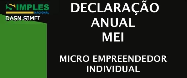 Declaração anual do MEI